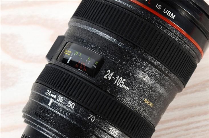 Camera Lens coffee mug 24 to 105