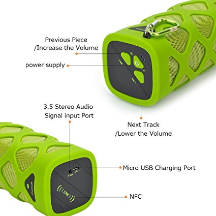 Outdoor Bluetooth Speaker TUTUO MS - 319 Description