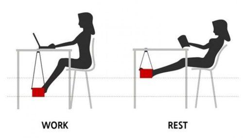 foot hammock instructions