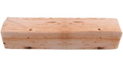 Wood Pillow Square Wood
