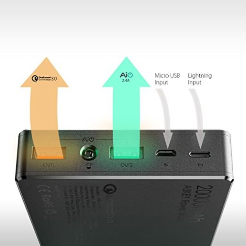 Aukey Powerbank Connections