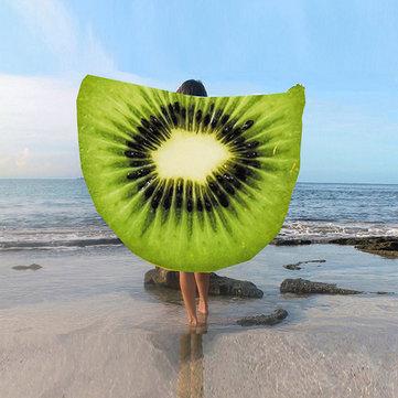 Fruity Beach Towel Kiwi