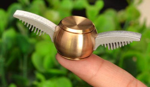 Golden Snitch as a Fidget Spinner