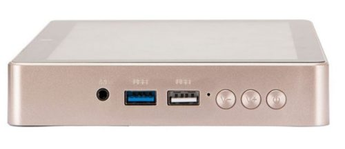 HIGOLE GOLE1 Plus Mini-PC Connections Front