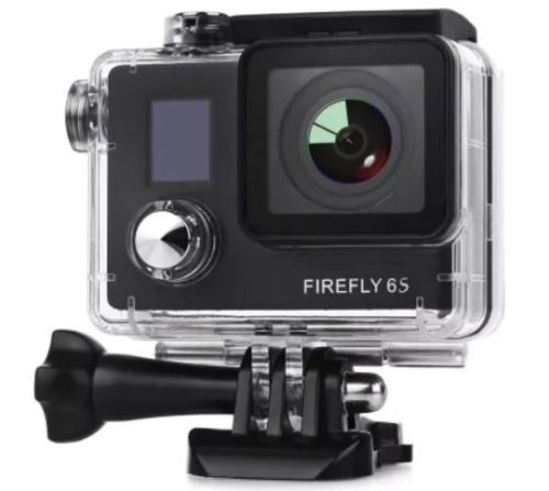 Hawkeye Firefly 6S 4K Action Cam waterproof case
