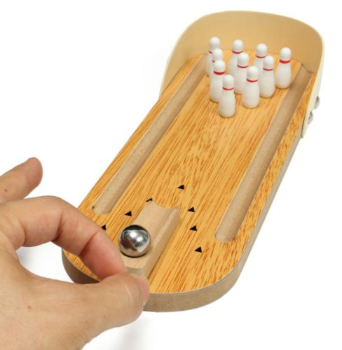 Mini bowling alley