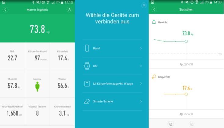 Xiaomi Mi Scale 2 Mi Fit App