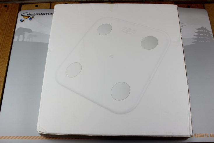 Xiaomi Mi Scale 2 packaging