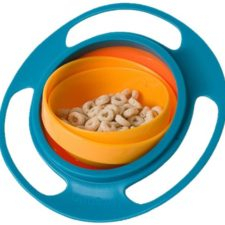the gyro bowl filled with cereal