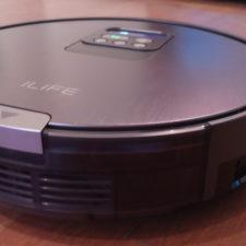 ILIFE V8 vacuum robot design