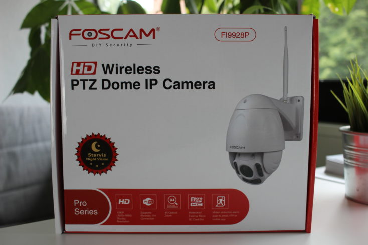 Foscam security ip camera packaging