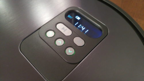 ILIFE V8S Control Buttons