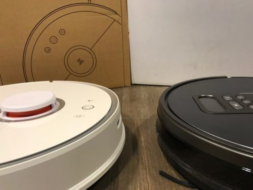 Vacuum Robot Comparison ILIFE V8S Xiaomi RoboRock One