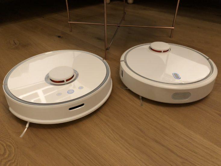 Xiaomi RoboRock Sweep One Mi Robot Comparison