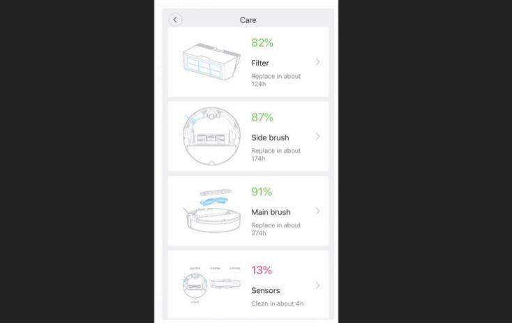 Xiaomi RoboRock Sweep One S50 Vacuum Robot App Spare Parts