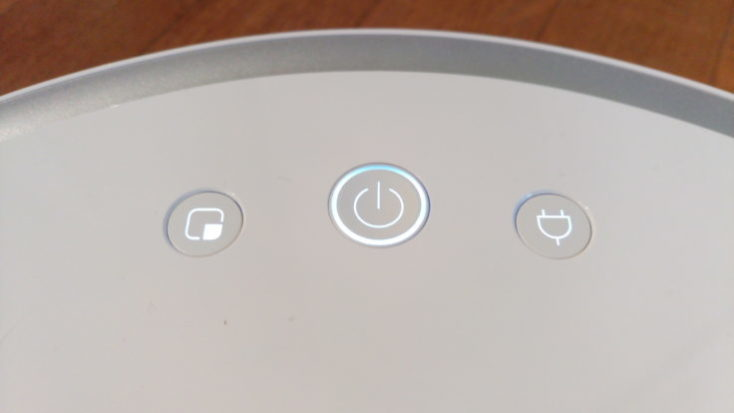 Xiaomi RoboRock Sweep One Vacuum Robot Buttons