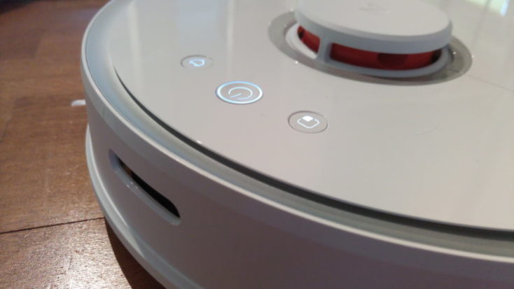 Xiaomi RoboRock Sweep One Vacuum robot Operating elements