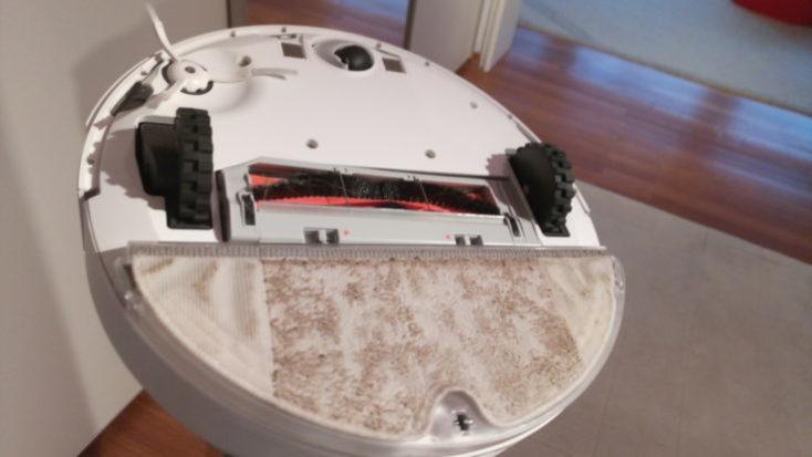 Xiaomi RoboRock Sweep One Vacuum robot Wiping function Performance