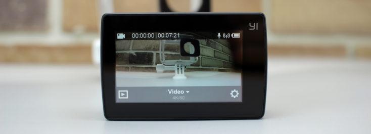 Yi 4K Plus display