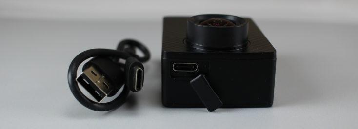 Yi 4K Plus USB Type C Port