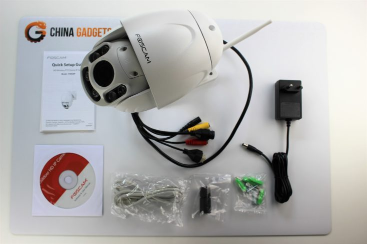 foscam security camera box content