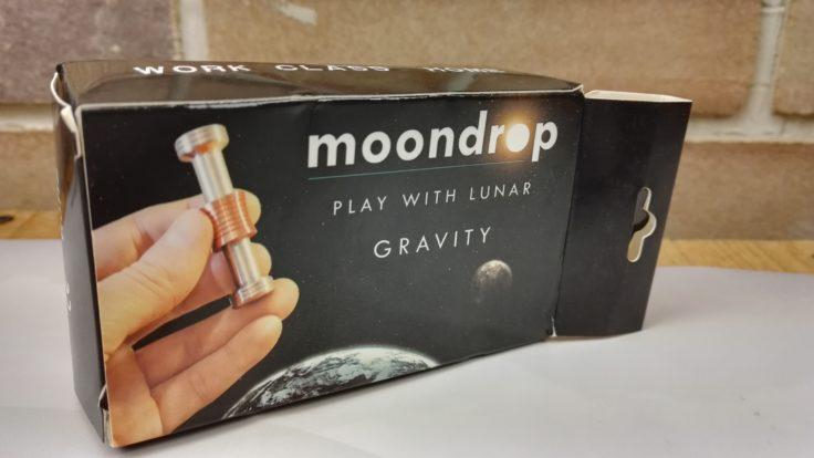 moondrop fidget toy simulating lunar gravity