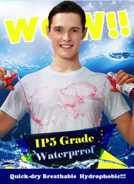 water repellent t-shirt