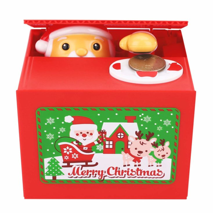 Santa Clause piggy bank