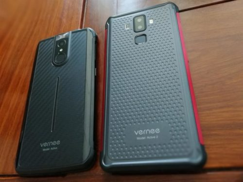 Vernee V2 and Vernee Active