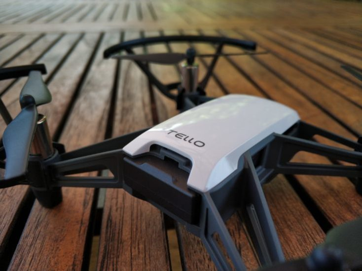 DJI RYZE Tello Photo Drone backside