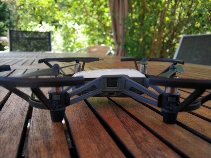 DJI RYZE Tello Photo Drone connection