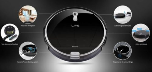 ILIFE A8 Functions