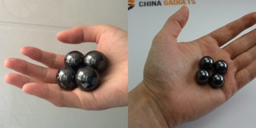 Magnetic Balls Hands On Comparison