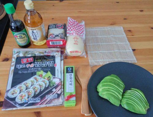 Sushezi Sushi Bazooka Ingredients