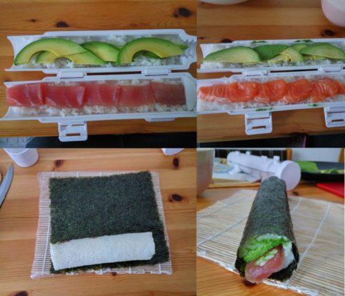 Sushezi Sushi Bazooka Process Steps