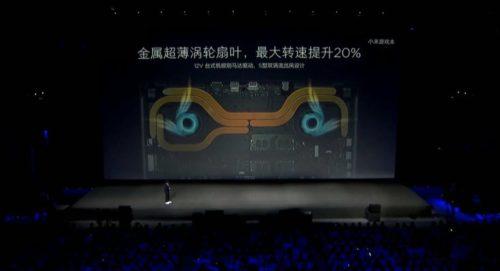 Xiaomi Mi Gaming Laptop cooling system