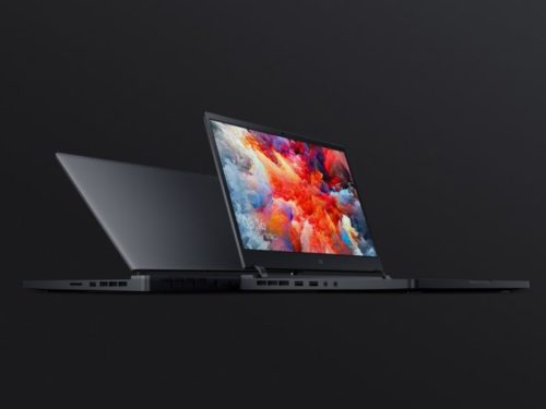Xiaomi Mi Gaming Notebook front and back