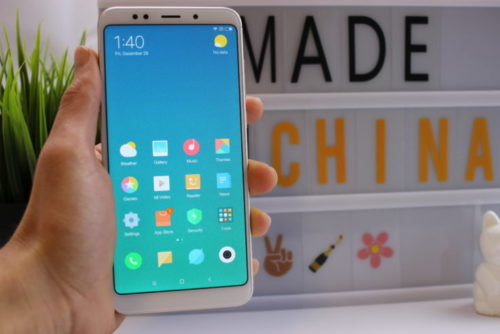 Xiaomi Redmi 5 Plus Screen