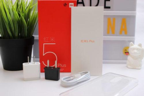 Xiaomi Redmi 5 Plus Smartphone Scope of delivery