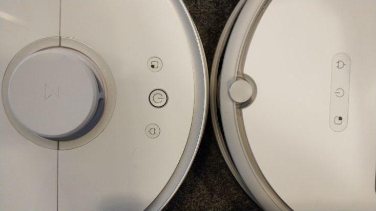 Xiaomi Suction Robot Comparison Controls