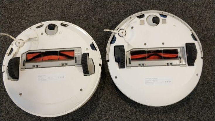 Xiaomi Xiaowa Vacuum Robot Comparison Bottom Side