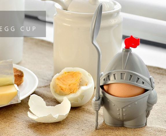 Knight eggcup