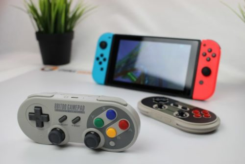 8Bitdo SF30 Bluetooth Gamepad
