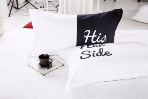 Bedcover His Side Her Side Materials