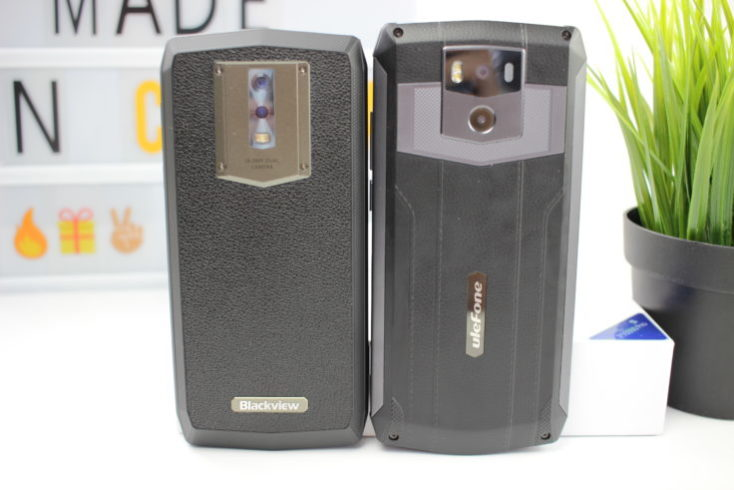 Blackview P10000 Pro vs. UleFone Power 5