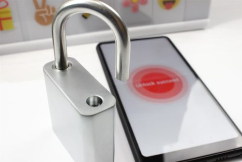 Bluetooth Padlock Nokelock