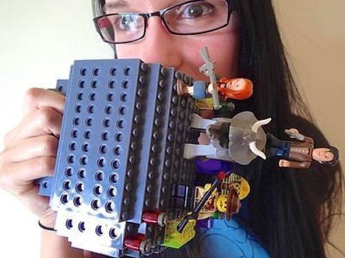 Build A Brick Mug Jurrasic Park