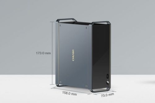 CHUWI HiGame Mini PC Dimensions
