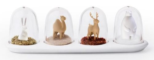 Crazy Salt and Pepper Shakers Animal Parade