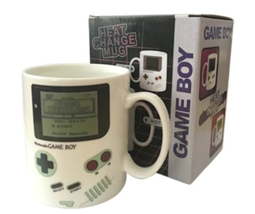 Gameboy cup packaging